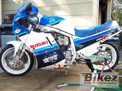 1987 Suzuki GSX-R 750 specifications and pictures