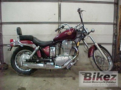 1987 Suzuki LS 650 Savage specifications and pictures