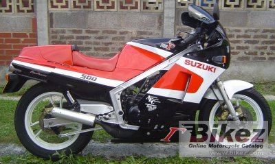 1988 Suzuki RG 500 Gamma photo