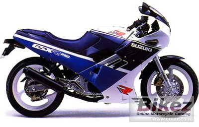 1988 Suzuki Gsx R 250 Specifications And Pictures