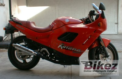 1989 Suzuki GSX 600 F photo