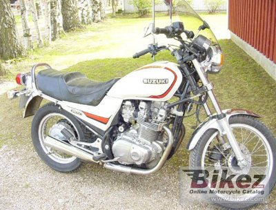 1989 Suzuki GR 650 photo