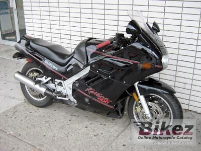 1989 Suzuki GSX 1100 F (reduced effect) specifications and