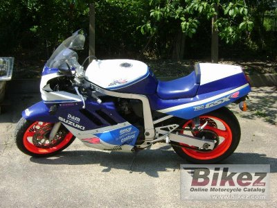 1989 Suzuki GSX-R 750 R (reduced effect)