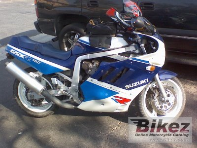 1989 Suzuki GSX-R 750 R specifications and pictures
