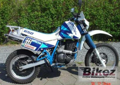 1990 Suzuki DR 650 R Dakar specifications and pictures
