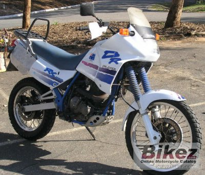 1990 Suzuki DR 650 RS specifications and pictures