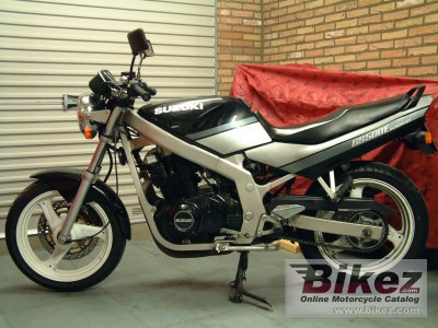 1990 suzuki gs 500 e specifications and pictures