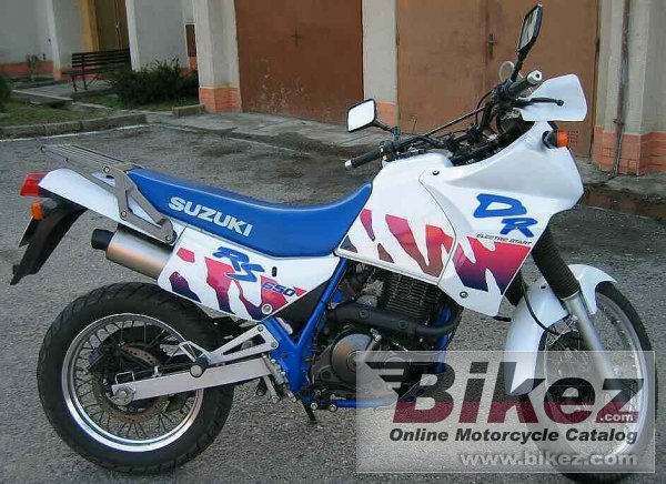 nymous user. dr 650 rse