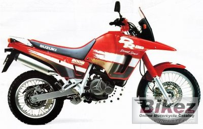 1991 Suzuki DR Big 800 S photo