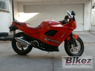 1991 Suzuki GSX 600 F specifications and pictures
