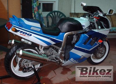 1991 suzuki gsx r 1100 specifications and pictures. Black Bedroom Furniture Sets. Home Design Ideas