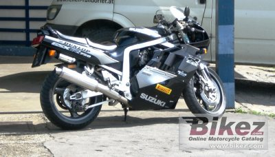 1991 Suzuki GSX-R 750 (reduced effect) specifications and