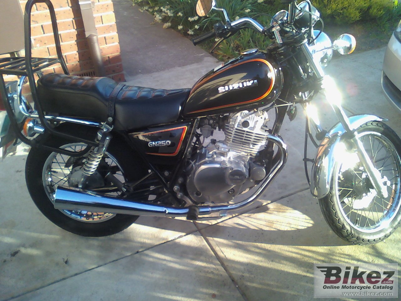 Big  gn 250 e picture and wallpaper from Bikez.com