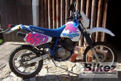1992 Suzuki DR 350 SHC specifications and pictures