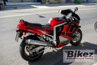 1992 Suzuki GSX-R 1100 (reduced effect) specifications and