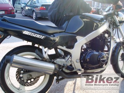 1993 suzuki gs 500 specifications and pictures