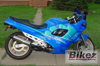 1993 Suzuki GSX 750 F specifications and pictures