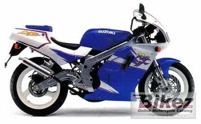 1993 Suzuki RG 125 F