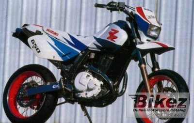 1995 Suzuki DR 650 RSE specifications and pictures