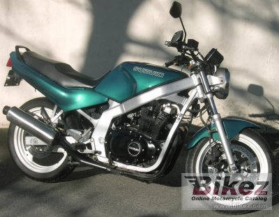 1995 suzuki gs 500 e specifications and pictures