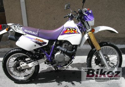 1996 suzuki dr 350 se specifications and pictures. Black Bedroom Furniture Sets. Home Design Ideas