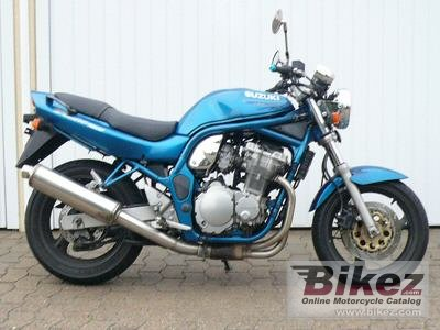 1996 Suzuki GSF 600 N Bandit specifications and pictures