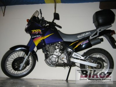 1997 Suzuki DR 650 SE specifications and pictures