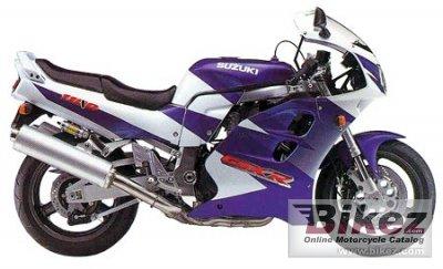 1997 Suzuki GSX-R 1100 W