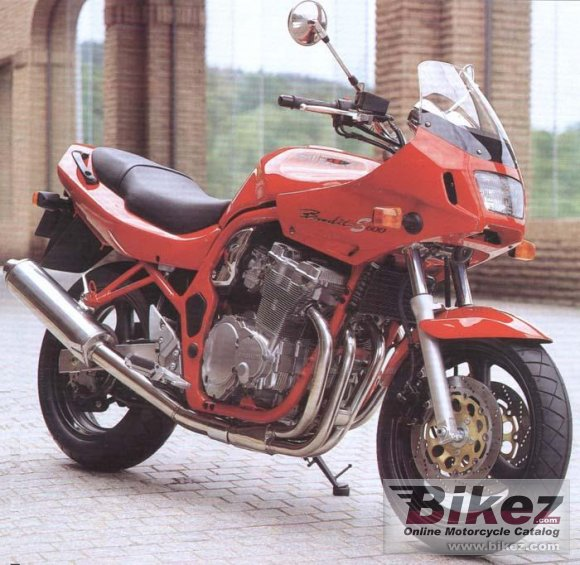 1998 Suzuki GSF 600 S Bandit photo