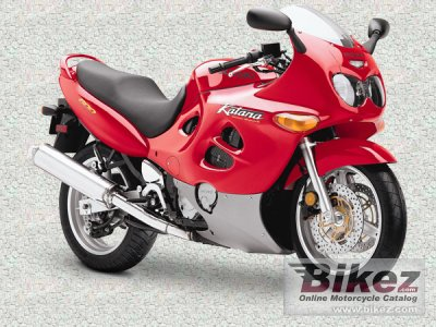 1998 Suzuki GSX 600 F photo