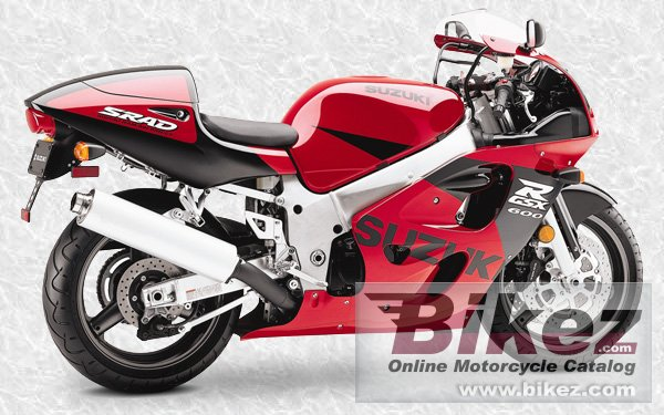 Big  Published with permission. gsx-r 600 picture and wallpaper from Bikez.com