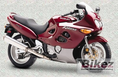 1998 Suzuki GSX 750 F photo