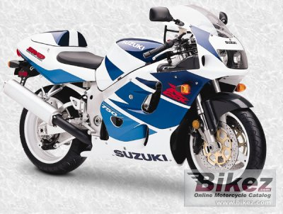 1998 Suzuki GSX-R 750 photo