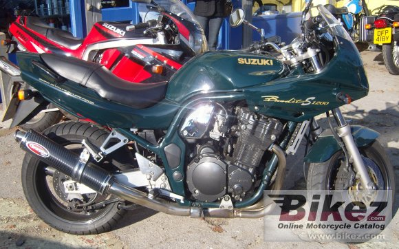 1998 Suzuki GSF 1200 S Bandit photo