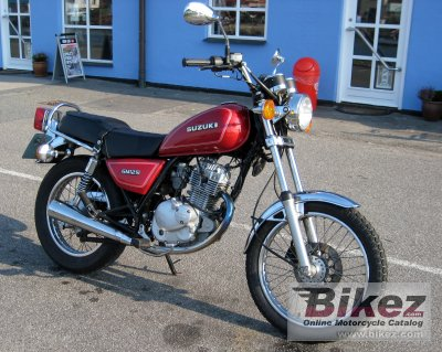 1998 Suzuki GN 125 specifications and pictures