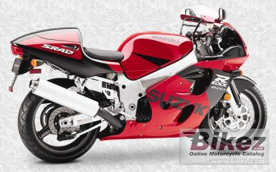 1998 Suzuki GSX-R 600 specifications and pictures