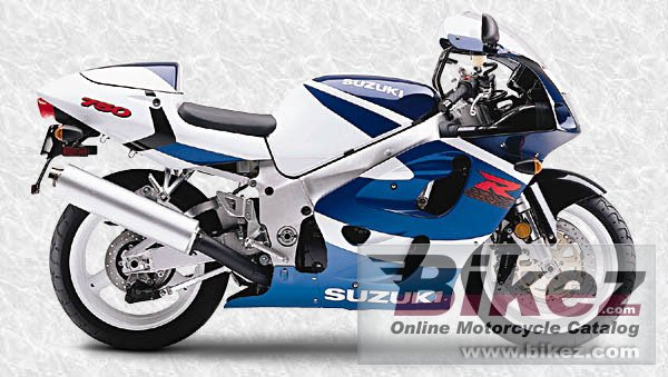 Big  Published with permission. gsx-r 750 picture and wallpaper from Bikez.com