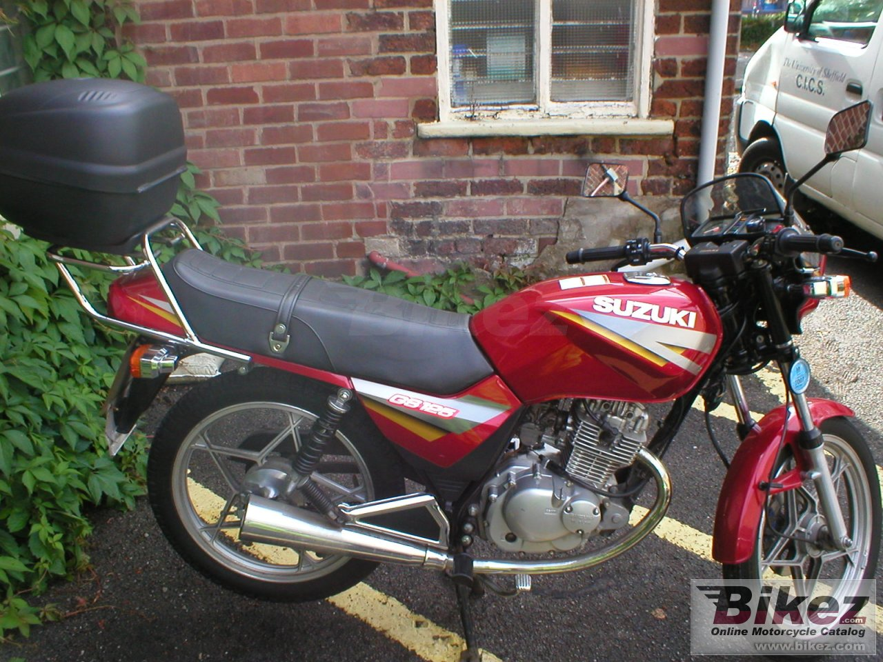 Big Conner Hodgkins gs 125 es picture and wallpaper from Bikez.com