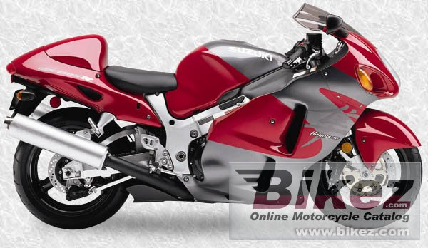 Big  Published with permission. gsx-r 1300 hayabusa picture and wallpaper from Bikez.com