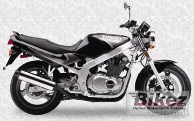 2000 Suzuki GS 500 E specifications and pictures