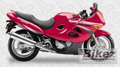 2000 Suzuki Gsx 600 F Specifications And Pictures