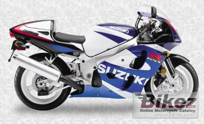 2000 Suzuki GSX-R 600 specifications and pictures