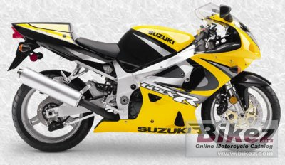 2000 Suzuki GSX-R 750 specifications and pictures