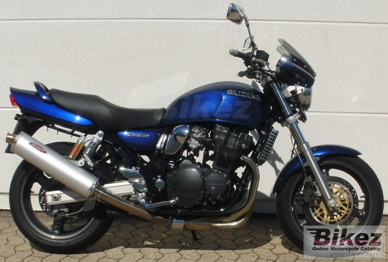 Big  gsx 750 picture and wallpaper from Bikez.com