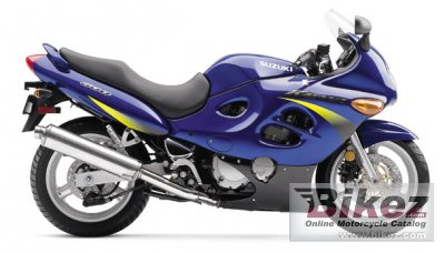 2001 Suzuki GSX 600 F Katana specifications and pictures