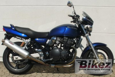2001 Suzuki GSX 750 specifications and pictures