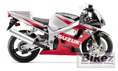 2001 Suzuki GSX-R 750 specifications and pictures