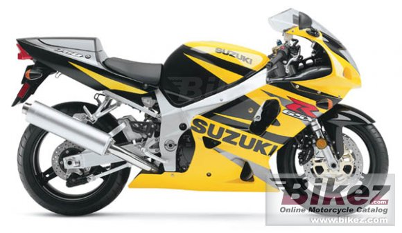 2002 Suzuki GSX-R 750 photo