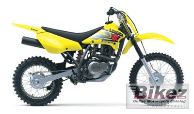 2002 Suzuki DR-Z 125 specifications and pictures